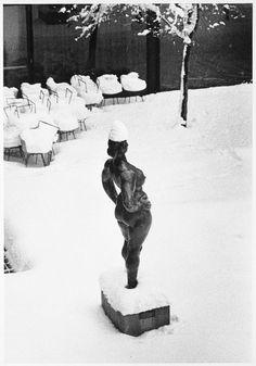 Museum of Modern Art, New York, 1967. photo by André Kertész