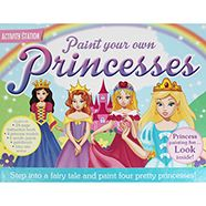 Paint Your Own Princesses | Only £7 or buy as part of our 2 for £10 on gifts!