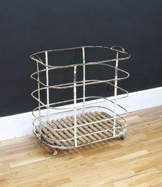 Vintage Industrial Storage Trolley - Bring It On Home