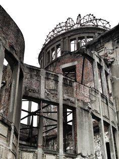 La ciudad de Hiroshima es un testimonio de los terribles pecados que la humanidad es capaz de hacer.