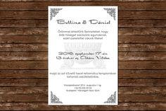 Elegant Wedding Invitation, Wedding Invitation, Baroque wedding invitation, Grey wedding invitation Baroque Wedding, Grey Wedding Invitations, Gray Weddings, Budapest, Maid, Grey Weddings, Maids
