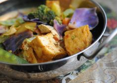 Malaysian Curry Vegetables entree at Jenny's Kuali, a Malaysian restaurant at102 East 4th Street in South Bethlehem.