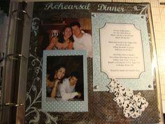 Rehearsal Dinner - Scrapbook.com