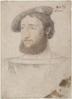 François de Bourbon, comte de Saint Paul, duc d'Estouteville (1491-1545)... c. 1525 ... Jean Clouet