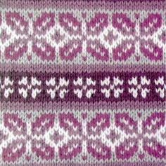 Fair Isle Knitting Pattern