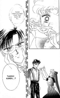 Sailor Moon Tuxedo Mask Pretty much my favorite part of the entire series. aaw<3