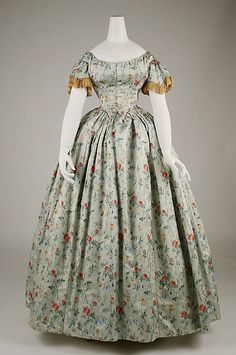 Evening Dress 1850s The Metropolitan Museum of Art
