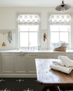 """W Design Collective on Instagram: """"Light, bright and charming is always a good idea - especially in the laundry room! 🧺#dreamlaundryroom Design: Marianne Brown…"""" Laundry Room Design, Kitchen Design, Laundry Rooms, Kitchen Ideas, Pantry Design, Living Colors, Laundry Room Inspiration, Farmhouse Interior, Farmhouse Bathrooms"""