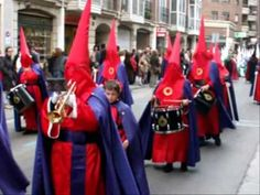 Semana Santa (Holy Week) Procession in Burgos, Spain (España) - 2009 - Holy Thursday