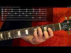 Guitar Lesson - METALLICA - ENTER SANDMAN ( 1 of 2 ) With Printable Tabs - YouTube