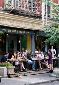 Great outdoor dining - NYC