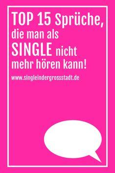 single leben sprüche