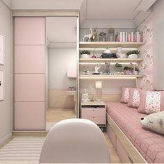 10 Inspirações de quartos pequenos. - Maine Donegá