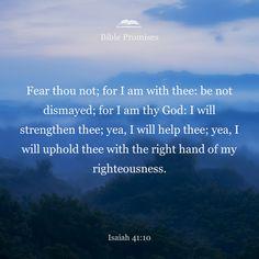 Isaiah 41:10 | Bible Promises