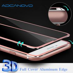 0c1bd6a69a6 2PCS 3D Curved protective glass for iPhone 6 6s 7 8 plus full cover  tempered glass