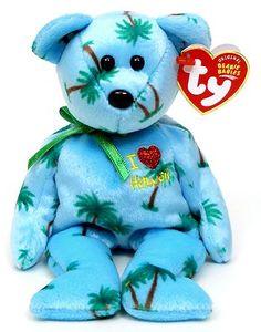 Beanie Baby Bears, Ty Beanie Boos, Teddy Bear Cartoon, Teddy Bears, Beanie Boo Birthdays, Winnie The Pooh Christmas, Ty Toys, Original Beanie Babies, Retro Toys