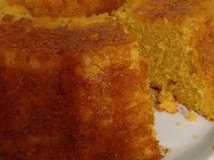 Receita de Bolo de milho - O verdadeiro, enviada por Nádia Ozório Queiros - TudoGostoso Sweet Corn Cakes, Lactose Free, Coco, Cornbread, Sweet Recipes, Brunch, Gluten, Ethnic Recipes, Desserts