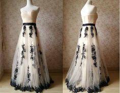 Ivory Bridesmaid Dress. Emboridery Floor Length Tulle Strapless Aline Wedding Party Dress Prom Dress. 2016 Custom Ivory Evening Dress