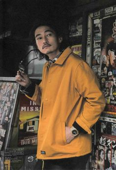 Street fashion 窪塚洋介