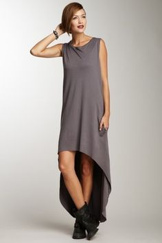 Fishtail T-Shirt Dress