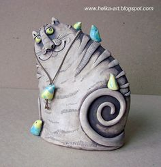 JT McMaster Artisanal ceramics - Custom and opensource ceramic transfers Ceramic Clay, Ceramic Pottery, Pottery Art, Ceramic Animals, Clay Animals, Clay Cats, Pottery Handbuilding, Ceramic Workshop, Ceramics Projects