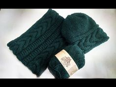 How to Knit a HAT(#2)_Шапка Vivchari - YouTube