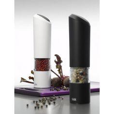 Młynek elektryczny Sienna Plus (biały) - SILIT || electric #grinder || #pepper #spices #kitchenaccessories