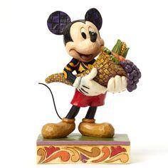 Jim Shore Disney Traditions Autumn Mickey Mouse 4046029 NIB 2015