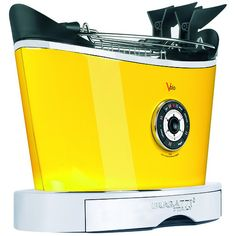 ブガッティ Bugatti Volo Toaster Yellow 230 V キッチン用品