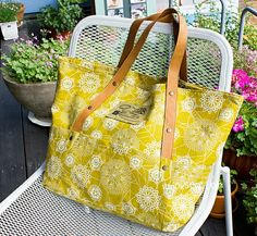 820 Kiera Beach Bag & Natalie 3 Bags Combo -  ithinksew.com