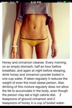 Honey And Cinnamon Cleanse
