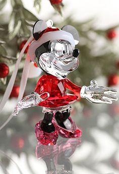 Swarovski Minnie Mouse Christmas 2013 Ornament