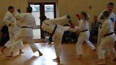 Group Kumite (sparring) 09/11/14