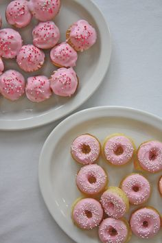 What's cuter than cupcakes? Donut Cupcakes! It all started at Carolyn's when I spotted this most darling little pan: Wouldn't these make the most special little Valentine or anytime treats?!, I thought. So, I whipped up a batch of my...