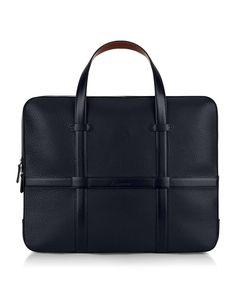 Leather Laptop Bag — Aquascutum