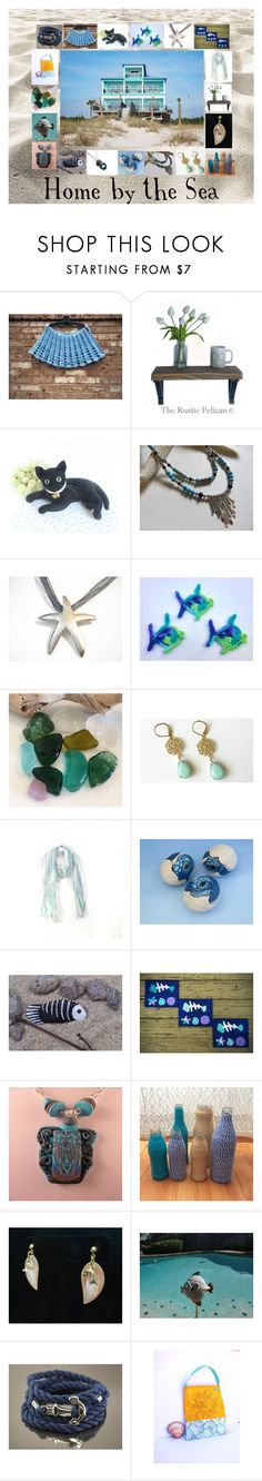 Home by the Sea: Vacation Gift Ideas by paulinemcewen on Polyvore featuring Blowfish, rustic, vintage and country