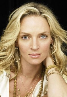 Uma Thurman - Flawless actress and model. I love her in everything and she is always stunning. One of my absolute favourite actresses.