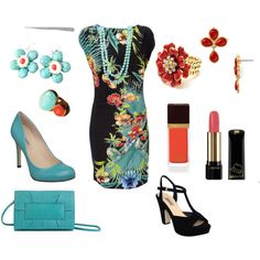 Tropical Dress-Up, created by theapatricia on Polyvore
