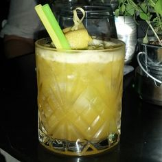 No.1 White rum and passion fruit!