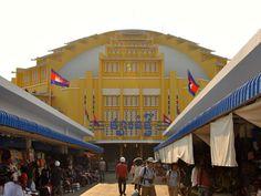 Central Market - Phnom Penh, Cambodia by whl.travel, via Flickr