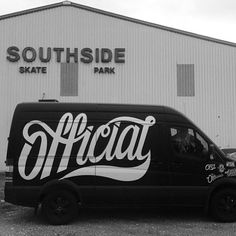 lettering / Official by Mike Farrell Vintage Typography, Typography Letters, Typography Logo, Types Of Lettering, Lettering Design, Branding Design, Hand Lettering, Van Design, Type Design