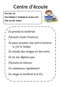 Read In French, French Class, Learn French, Daily 5 Reading, Teaching Reading, French Teacher, Teaching French, Education And Literacy, Literacy Centers