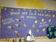 Bulletin board for beginning of the year
