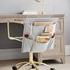 Find dorm storage solutions at Pottery Barn Teen. Shop dorm storage bins, baskets, carts, and more to help keep everything organized. Dorm Desk Decor, Diy Bedroom Decor, Bedroom Ideas, Teen Bedroom, Office Decor, Dorm Room Desk, Glam Bedroom, Dorm Storage, Dorm Room Organization