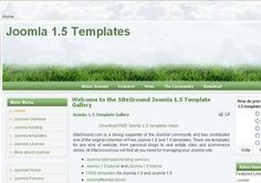Joomla Templates - Green Joomla Theme Design #joomla #joomlatemplates #green
