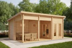 The Finnish Sauna Cabin Oliver I is a family size sauna for 3 5 bathers. It has a room for changing and relaxing, separate washing and shower room, sauna room and generous veranda. In other words, fully loaded with all the necessary features Patio Roof, Pergola Patio, Pergola Plans, Backyard Patio, Pergola Kits, Pergola Ideas, Sauna House, Sauna Room, House Roof
