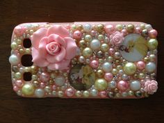 Pretty Belle   Disney beauty and the beast iPhone bling case droid galaxy any case Contact me if your interested in any phone case Vegasbronco@yahoo.com  Or kik me at : yourphoneisblinging