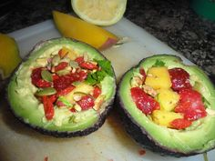 Stuffed Avocados   Healthy for Happy