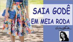 MOLDE DE SAIA GODÊ COM CÉLIA ÁVILA