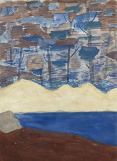 Brook in the Forest 1955 Milton Avery